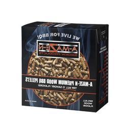 A-MAZE-N 1 AMNP2-STD-0008 00% Oak BBQ Pellets, 2 lb