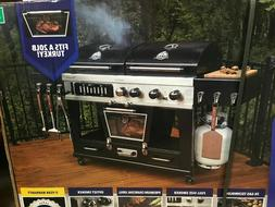 NEW Pit Boss Memphis Ultimate 4-in-1 Gas & Charcoal Combo Gr