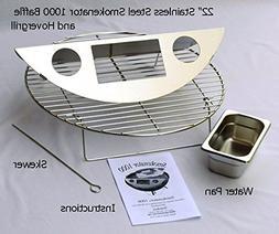 Smokenator 1000 & Hovergrill - Meat Smoker Kit Barbecue Kett