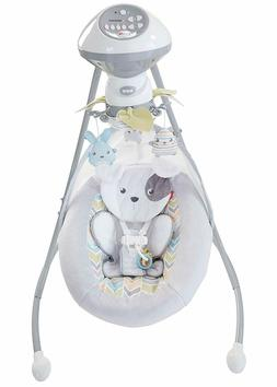 Fisher-Price Sweet Snugapuppy Dreams Cradle 'n Swing Baby To