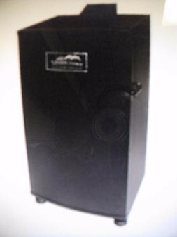20070910 30 inch black electric digital smoker