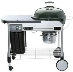 Weber 22 Green Performer Deluxe Charcoal Grill
