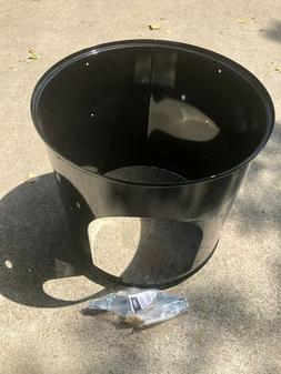 Weber 22 Inch 22.5 Smokey Mountain Cooker Charcoal Smoker Ce