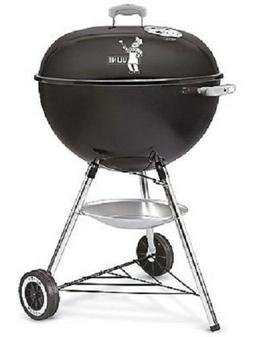 "Weber 22"" Original Kettle Charcoal Grill - Black NIB 741093"
