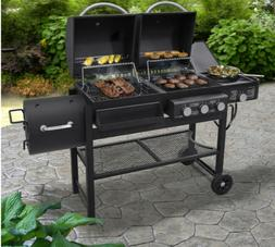 3 burner propane gas charcoal