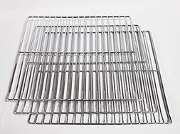 3 PC Cooking Grate Jerky Rack Replacement Parts for Masterbu