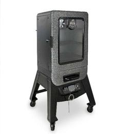 3 Rack Digital Electric Vertical Smoker Outdoor BBQ Meat Fis