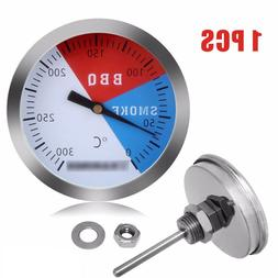 300℃ 2'' Stainless Barbecue BBQ Smokers Grill Thermometer