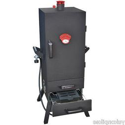 38 Two Drawer Vertical Gas Smoker