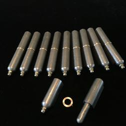 """4""""  Bbq Stove Bullet Hinge  Smoker Weld On 10 pieces WE SHIP"""