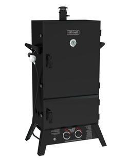 "43"" Wide Body LP Gas Smoker Black 1235 Sq. inch"