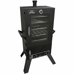 44 in. Gas Smoker with Window and with Dual 12,000 BTUs Stai