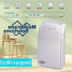 5-in-1 Air Purifier with True HEPA Filter Cleaner for Large