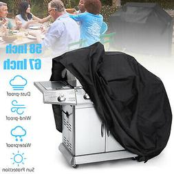 "58"" 67"" Waterproof Barbecue BBQ Gas Grill Cover for Weber Ch"