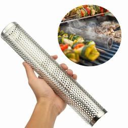 2019 BBQ Grill Smoker Tube Barbecue Wood Pellet Cold Smoking