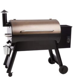 6-in-1 34 Pellet Grill Smoker 884 Sq BBQ Roast Braise Bake T
