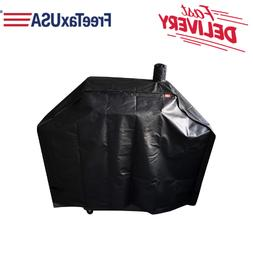 """60"""" BBQ Grill Cover For Smoke Hollow Deluxe Pro Charcoal Smo"""