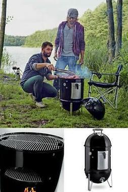 Weber 711001 Smokey Mountain Cooker 14-Inch Charcoal Smoker,