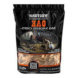 WESTERN 78077 Premium BBQ Products Post Oak Smoking Chips, 1