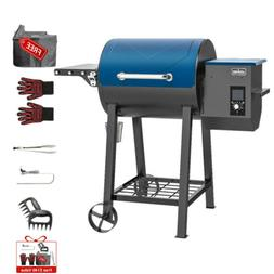 ASMOKE 8 In 1 Wood Pellet Grill BBQ Smoker Patio Grilling wi