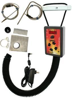 IQ120 BBQ Temperature Regulator Kit with Large Adjustable Ka