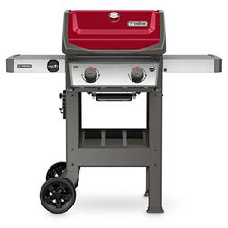 Spirit II E-210 2-Burner LP Gas Grill, 26,500-BTU, Red