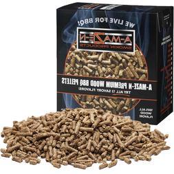 A-MAZE-N AMNP2-SPL-0001 100% Premium Wood BBQ Smoker Pellets