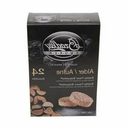Brand New Bradley Smoker Alder Bisquettes 24-Pack