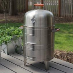 Meco Americana Double-Grid Electric Water Smoker