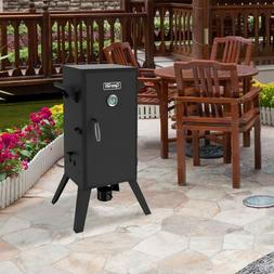 Analog Electric Smoker Outdoor Barbecue BBQ Grill Cooking Ea