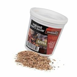 Apple Wood Smoker Chips- 100% Natural, Fine Wood Smoker and