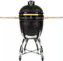 Coyote Asado Smoker with Heat Resistant Ceramic Construction