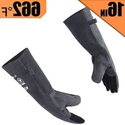 RAPICCA Forge Welding Gloves Extreme Heat Resistant Leather