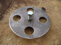 Barrell or Drum Smoker BBQ smoker Exhaust Vent for Lid dampe