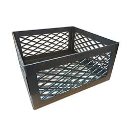 Total Control BBQ Charcoal Basket smoker pit  12 x 12 x 6 B-