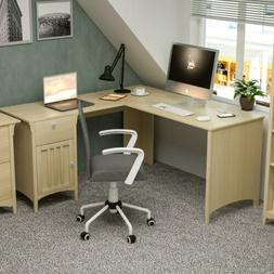 Corner L-Shaped Computer Desk Table Laptop Workstation Home