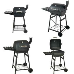 BBQ Charcoal Grill Portable Barbecue Mini Barrel Outdoor 26""