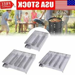 BBQ Cold Smoker Generator Grill Cooking Tool Wood Chips Smok