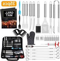 BBQ Grill Accessories Set 35 PCS Stainless Steel Tools Set G