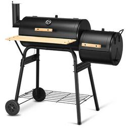 Costway Outdoor BBQ Grill Charcoal Barbecue Pit Patio Backya