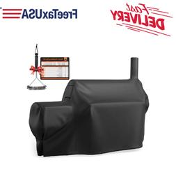 BBQ Grill Cover For Oklahoma Joe'S Longhorn Offset Smoker He