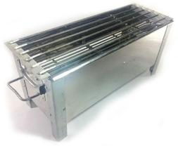 "24"" BBQ Grill Stove Satay Steak Barbecue Charcoal Smoker Koc"