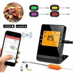 BBQ Meat Thermometer For Grilling,APP Controlled Smart Cooki