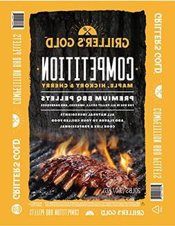 Griller's Gold Premium BBQ Pellets - Maple, Cherry, Hickory