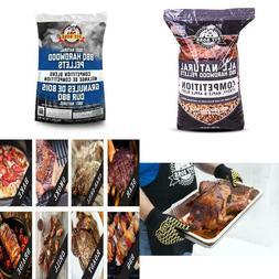Pit Boss BBQ Wood Pellets Competition Blend 40lb Bag 100% Al