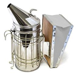 CO-Z Bee Smoker, Stainless Steel Beehive Smoker with Heat Sh