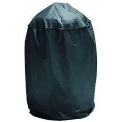 Black Dome Smoker Cover Vertical Round BBQ Grill Drawstring