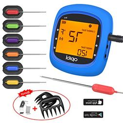 Bluetooth Meat Thermometer, Wireless Digital BBQ Thermometer
