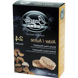 BTAL24 Alder Bisquettes 24-Pack Bradley Smoker Outdoor Cooki