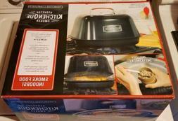 Charcoal Companion CC4132 KitchenQue Indoor Stovetop Smoker